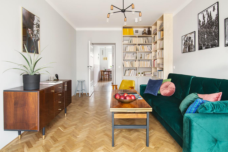 CudnieBosko Monika Skuza projekt mieszkania 50m2